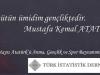 19 Mayıs Atatürk'ü Anma, Gençlik ve Spor Bayramımız Kutlu Olsun.